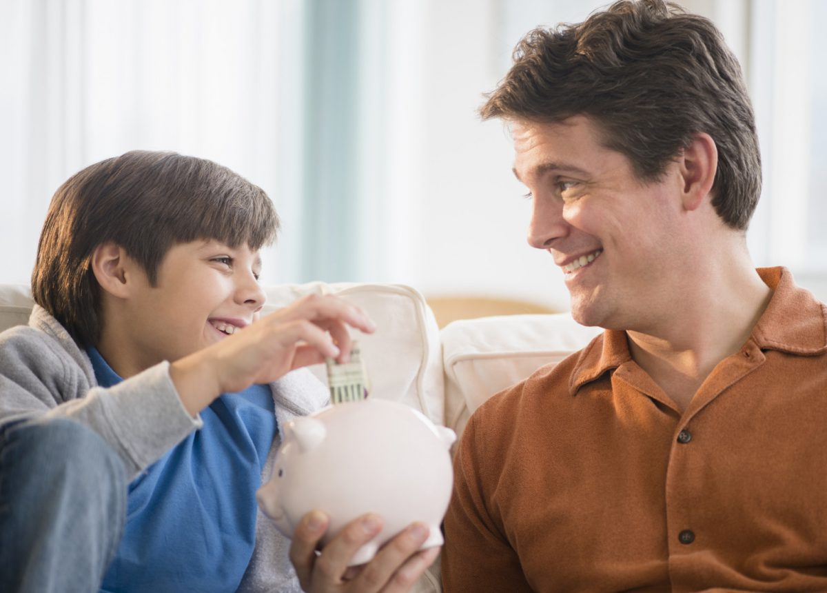 Six Ways To Teach Your Kids About Saving Money
